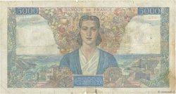 5000 Francs EMPIRE FRANÇAIS FRANCE  1945 F.47.44 B