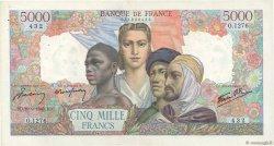 5000 Francs EMPIRE FRANÇAIS FRANCE  1945 F.47.44 TTB+