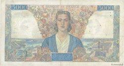5000 Francs EMPIRE FRANÇAIS FRANCE  1945 F.47.46 TB