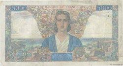 5000 Francs EMPIRE FRANÇAIS FRANCE  1946 F.47.51 pr.TTB
