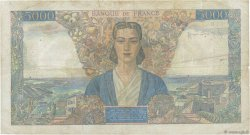 5000 Francs EMPIRE FRANÇAIS FRANCE  1946 F.47.52 TB