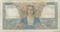 5000 Francs EMPIRE FRANÇAIS FRANCE  1946 F.47.52 TB