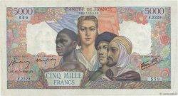 5000 Francs EMPIRE FRANÇAIS FRANCE  1946 F.47.53