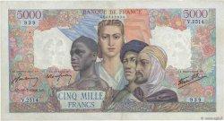 5000 Francs EMPIRE FRANÇAIS FRANCE  1946 F.47.55 TTB+