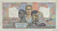 5000 Francs EMPIRE FRANÇAIS FRANCE  1947 F.47.58 TTB