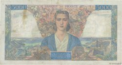 5000 Francs EMPIRE FRANÇAIS FRANCE  1947 F.47.58 TTB