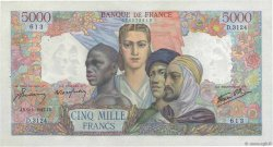 5000 Francs EMPIRE FRANÇAIS FRANCE  1947 F.47.58 pr.SPL