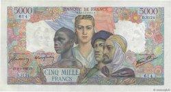 5000 Francs EMPIRE FRANÇAIS FRANCE  1947 F.47.58 pr.SPL