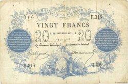 20 Francs type 1871 FRANCE  1871 F.A46.02 TB