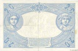 20 Francs BLEU FRANCE  1906 F.10.01 TTB