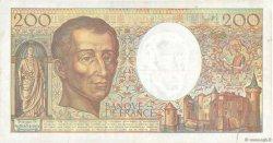 200 Francs MONTESQUIEU alphabet 101 FRANCE  1992 F.70bis.01 TB