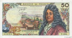 50 Francs RACINE FRANCE  1976 F.64.33 SUP