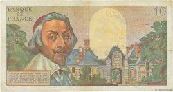 10 Nouveaux Francs RICHELIEU FRANCE  1961 F.57.13 pr.TTB