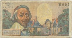 1000 Francs RICHELIEU FRANCE  1956 F.42.19 pr.TB