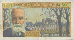 500 Francs VICTOR HUGO FRANCE  1954 F.35.02 pr.TTB