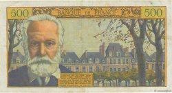 500 Francs VICTOR HUGO FRANCE  1958 F.35.08 pr.TTB