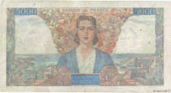 5000 Francs EMPIRE FRANÇAIS FRANCE  1945 F.47.45 pr.TTB