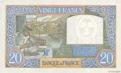 20 Francs SCIENCE ET TRAVAIL FRANCE  1941 F.12.16 SPL