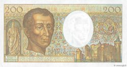 200 Francs MONTESQUIEU FRANCE  1991 F.70.11 pr.SPL