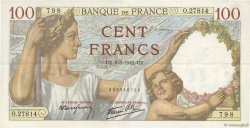 100 Francs SULLY FRANCE  1942 F.26.64 pr.SUP