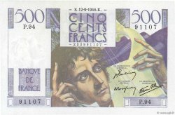 500 Francs CHATEAUBRIAND FRANCE  1946 F.34.06 TTB