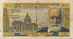 500 Francs VICTOR HUGO FRANCE  1954 F.35.03 AB