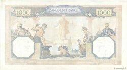 1000 Francs CÉRÈS ET MERCURE type modifié FRANCE  1940 F.38.46 pr.SUP