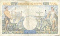 1000 Francs COMMERCE ET INDUSTRIE FRANCE  1940 F.39.02 TB