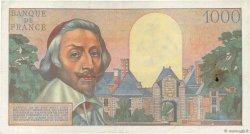 1000 Francs RICHELIEU FRANCE  1956 F.42.22 TTB