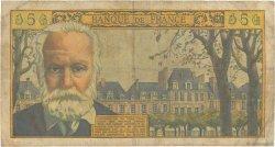 5 Nouveaux Francs VICTOR HUGO FRANCE  1959 F.56.01 B