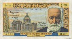 5 Nouveaux Francs VICTOR HUGO FRANCE  1964 F.56.15 TTB