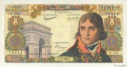 100 Nouveaux Francs BONAPARTE FRANCE  1962 F.59.14 pr.SUP
