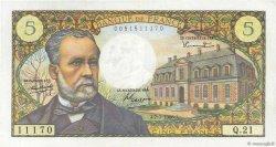 5 Francs PASTEUR FRANCE  1966 F.61.02 SUP