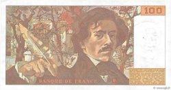 100 Francs DELACROIX modifié FRANCE  1988 F.69.12 SUP
