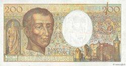 200 Francs MONTESQUIEU FRANCE  1990 F.70.10c pr.TTB