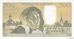 500 Francs PASCAL FRANCE  1991 F.71.47 TTB+