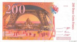 200 Francs EIFFEL FRANCE  1996 F.75.03b SUP+