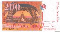 200 Francs EIFFEL FRANCE  1996 F.75.03a SPL