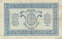 50 Centimes TRÉSORERIE AUX ARMÉES FRANCE  1919 VF.02.05 TB