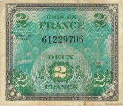 2 Francs DRAPEAU FRANCE  1944 VF.16.01 TB