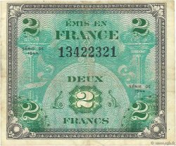 2 Francs DRAPEAU FRANCE  1944 VF.16.01 TB+