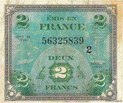 2 Francs DRAPEAU FRANCE  1944 VF.16.02 TB+