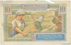 10 Francs TRÉSOR FRANÇAIS FRANCE  1947 VF.30.01 pr.TTB