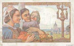 20 Francs PÊCHEUR FRANCE  1945 F.13.10 pr.TTB