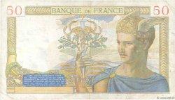 50 Francs CÉRÈS FRANCE  1937 F.17.33 TB