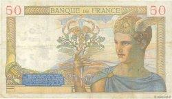 50 Francs CÉRÈS modifié FRANCE  1940 F.18.37