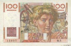 100 Francs JEUNE PAYSAN FRANCE  1945 F.28.01 SUP