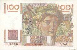 100 Francs JEUNE PAYSAN FRANCE  1948 F.28.17 SUP