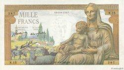 1000 Francs DÉESSE DÉMÉTER FRANCE  1942 F.40.01 SUP