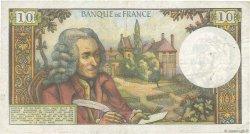 10 Francs VOLTAIRE FRANCE  1973 F.62.63 pr.TTB